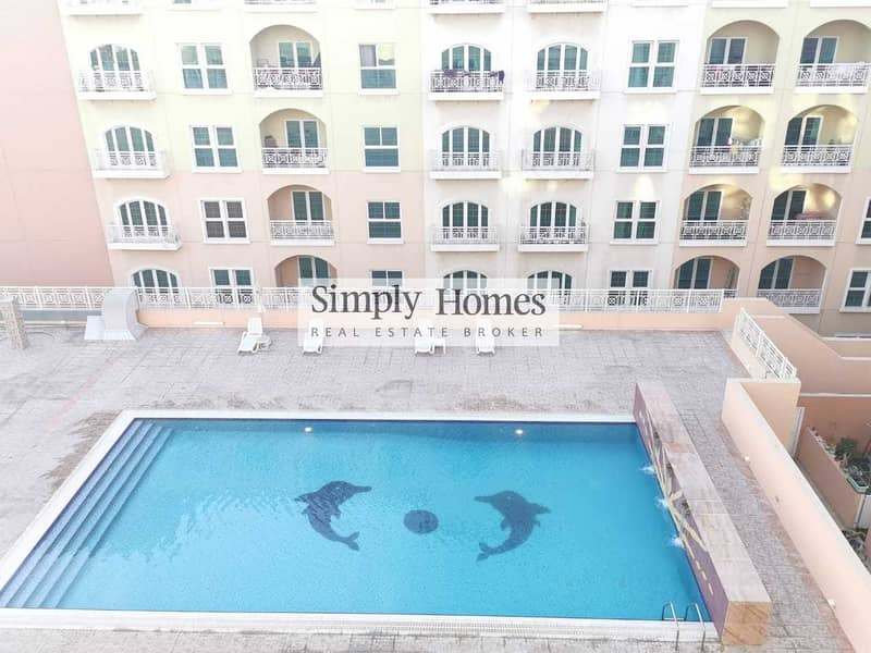 13 Spacious 1 BR Apart. / Pool View / Vacant