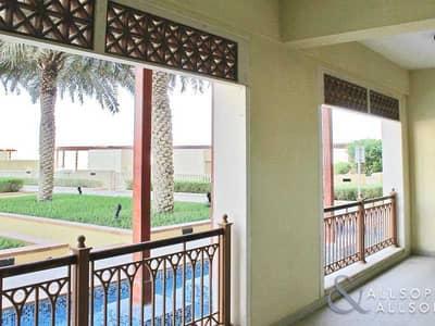 شقة 2 غرفة نوم للايجار في نخلة جميرا، دبي - 2 Bed   Exclusive   Terrace   Ground Floor
