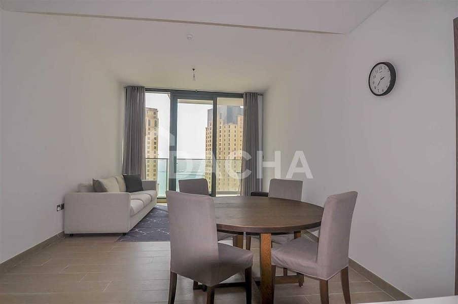 2 Sea & Marina Views / 2 Balconies / Ultra-Modern