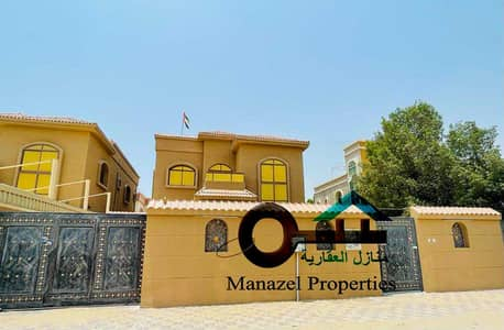 Villa for rent in Al Rawda 1 area, second inhabitant, excellent villa, very excellent location, close to the neighboring street with air conditioners