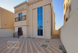Villa for sale in Ajman - fully finished, large building area, super deluxe finishing - with the possibility of bank financing.