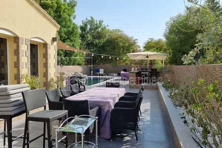 تاون هاوس 3 غرف نوم للبيع في المرابع العربية، دبي - Nice Upgraded & Mint Type B  Large Plot!
