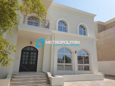 7 Bedroom Villa for Rent in Abu Dhabi Gate City (Officers City), Abu Dhabi - Spacious Layout Balcony Maids Room Private Garden