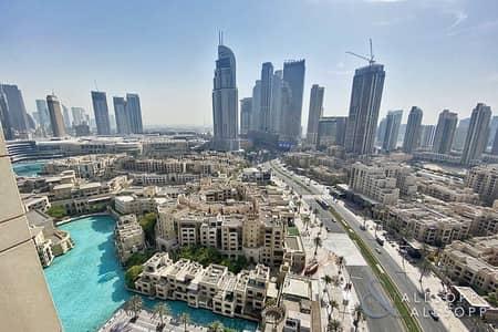 فلیٹ 3 غرف نوم للايجار في وسط مدينة دبي، دبي - High Floor    Great View    Chiller Free