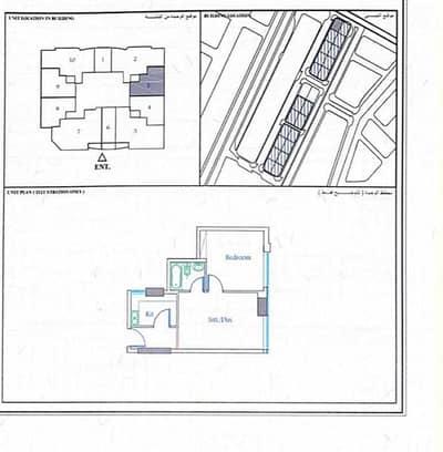 فلیٹ 1 غرفة نوم للبيع في الحميدية، عجمان - للبيع شقة منطقة الحميدية 1 /عجمان بناية جاردن سيتي