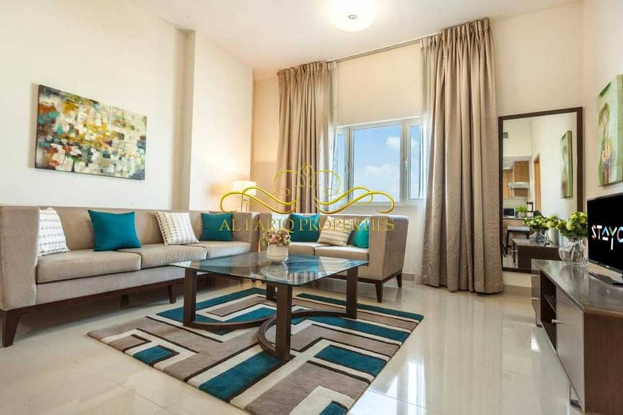 Luxurious Fully Furnished 2 Bedrooms Apartment - Suburbia