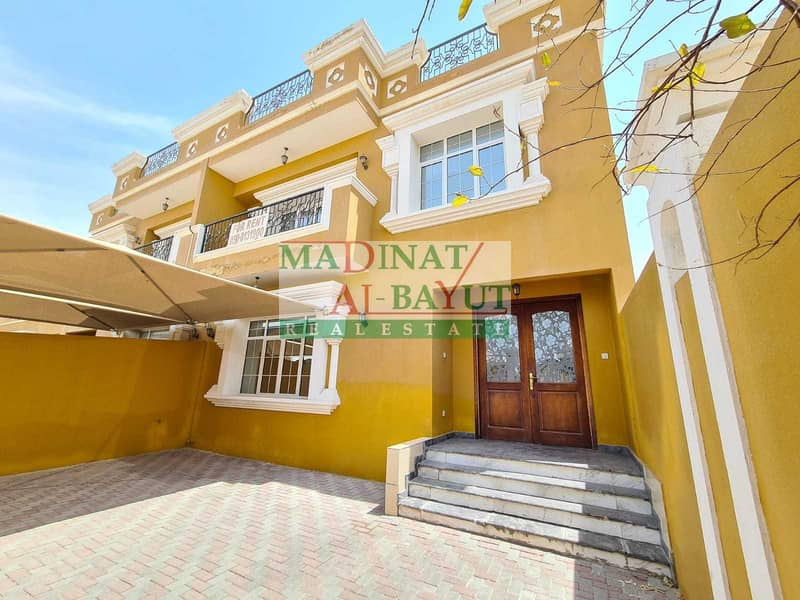 ASTONISHING INEPENDENT 4 BEDROOM VILLA  WITH PRIVATE BAC YARD MBZ