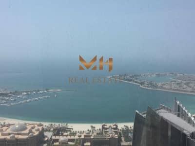 فلیٹ 3 غرف نوم للايجار في شارع الكورنيش، أبوظبي - Vacant   3  BHK + Maid's Room    Sea View