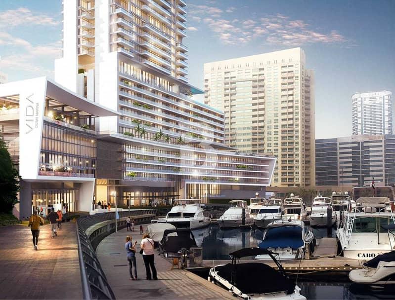 2 Premium Corner Dubai eye and Marina view