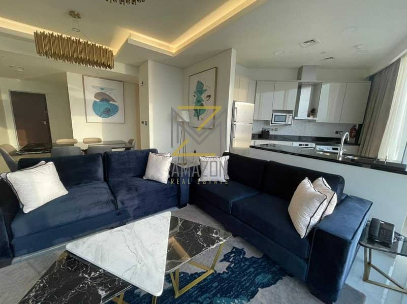 2 Amazing SEA VIEWS   Huge 2 Bedroom Apartment   Ready to Move In   Lowest Priced Investment   Avani Palm Views