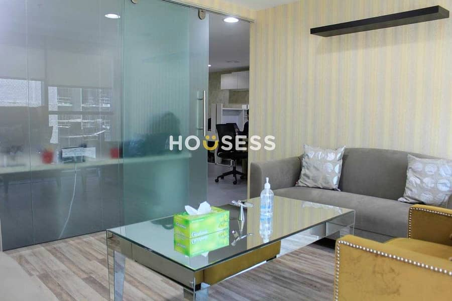 2 Fitted and Fully Furnished Office |Well Maintained