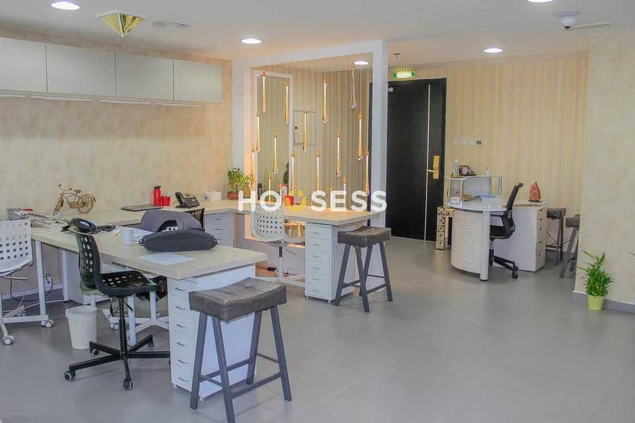 19 Fitted and Fully Furnished Office |Well Maintained