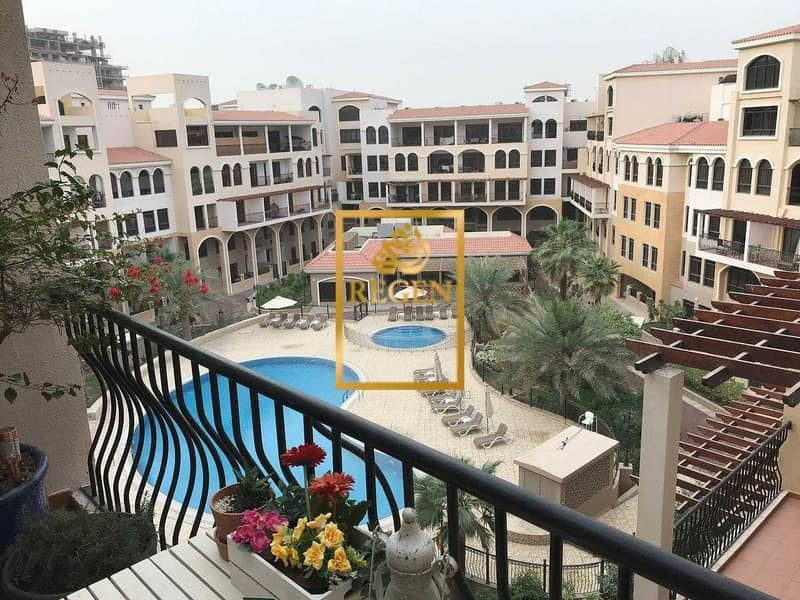Pool View -  Loft-style - 1BHK Apartment For Rent in JVC