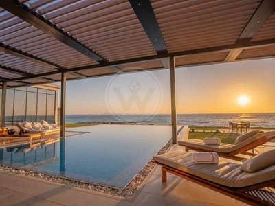 5 Bedroom Villa for Sale in Nurai Island, Abu Dhabi - The Ultimate Beach Villa: Luxury at its finest
