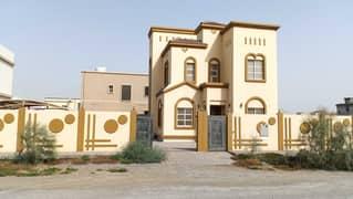 فيلا للايجار بإكساء ممتاز ونظافة عالية، في العزرة - الشارقة - الامارات العربية المتحدة