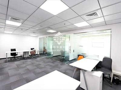 مکتب  للبيع في الخليج التجاري، دبي - Corner Unit   Fitted Office   Binary Tower