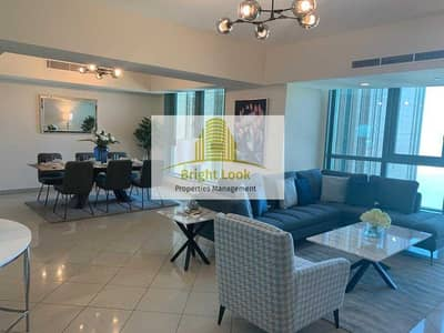 3 Bedroom Flat for Rent in Corniche Road, Abu Dhabi - Fully Furnished  with  Full Facilities| Sauna