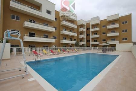 شقة 2 غرفة نوم للايجار في قرية جميرا الدائرية، دبي - Spacious one bedroom with one month free