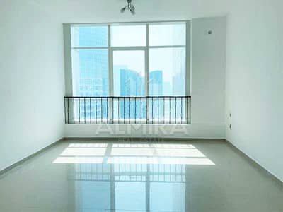 استوديو  للايجار في جزيرة الريم، أبوظبي - Move-in I 4 chqs High Floor w/ partial sea view