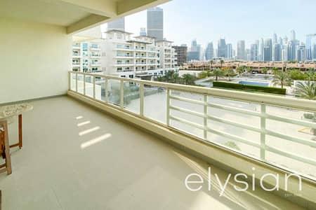 شقة 3 غرف نوم للايجار في تلال الجميرا، دبي - Furnished | Wide Balconies | Larger Layout