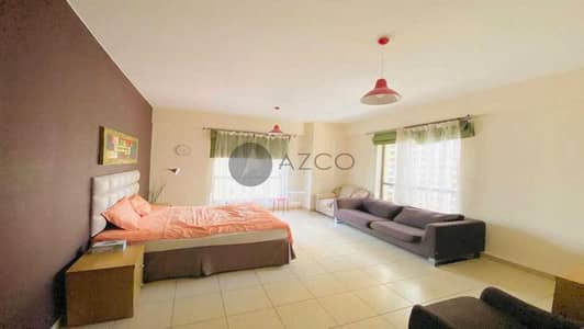 3 Bedroom Apartment for Rent in Jumeirah Beach Residence (JBR), Dubai - Fully Furnished   Maids room   Partial Marina View