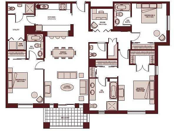 15 3 Bedroom   Vacant On Transfer   Exclusive