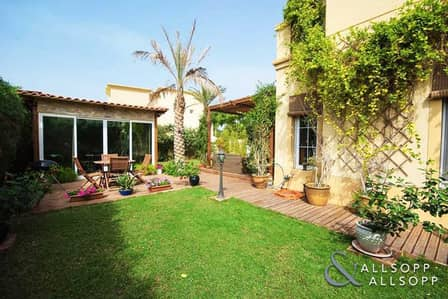 3 Bedroom Villa for Rent in The Springs, Dubai - Springs 2 | Type 3E | Backing Pool & Park
