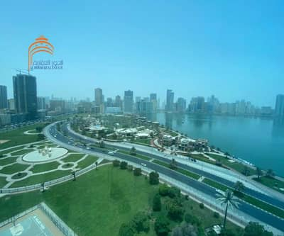 Office for Sale in Al Majaz, Sharjah - Office with Sea View
