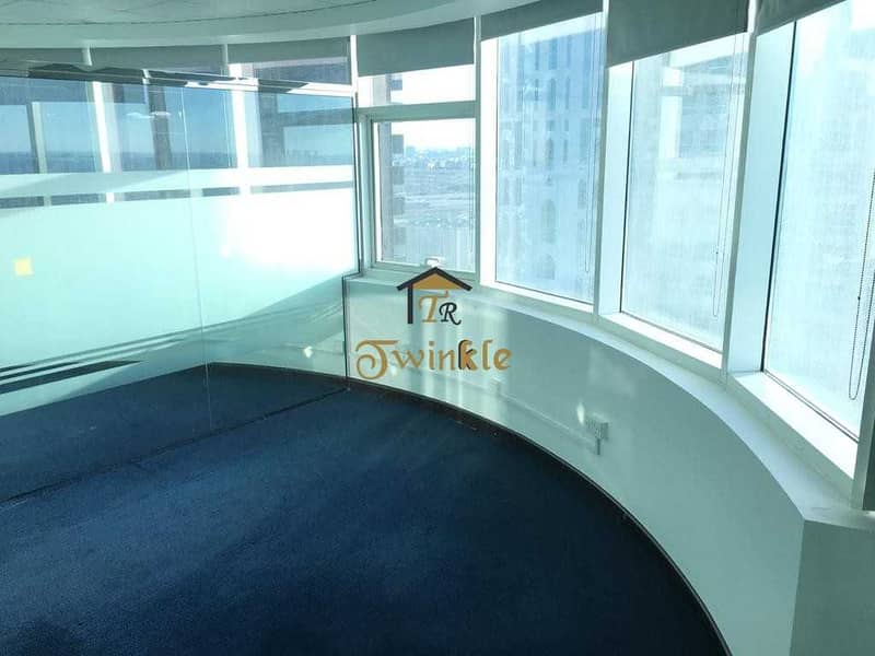 JLT  FULLY FITTED OFFICE FOR RENT  AED- 43k