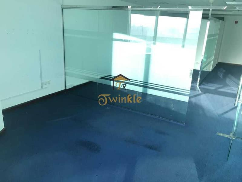 2 JLT  FULLY FITTED OFFICE FOR RENT  AED- 43k