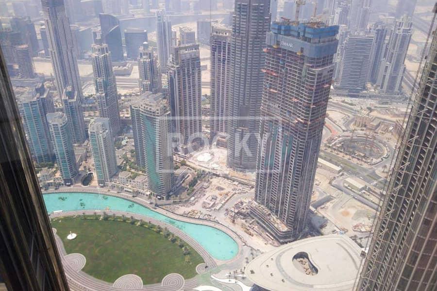 10 Higher Floor   1 Bed   Burj Khalifa