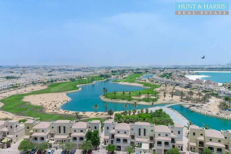 Fully Furnished Studio - Amazing Golf Course & Lagoon View
