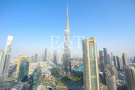 4 Bedroom Apartment for Rent in Downtown Dubai, Dubai - Fully Furnished | Full B. K View | Vacant