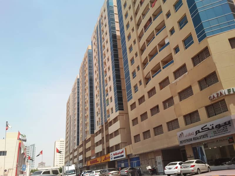 Garden City: Nice 2 Bed Hall in Gerf near Ajman University