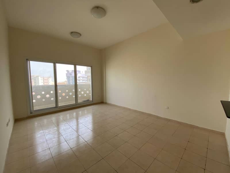 Large 1 BHK Apartment | Semi-Closed Kitchen | With Balcony