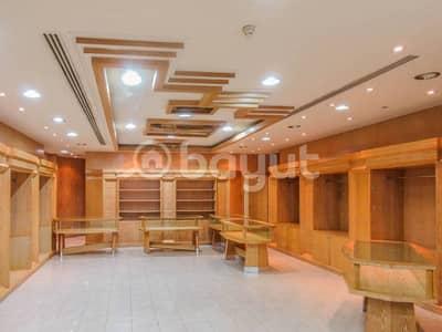 Dhs 165k Shop at Jumeirah Beach Road (Negotiable Rent)