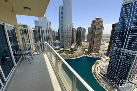 1 Bedroom Flat for Sale in Jumeirah Lake Towers (JLT), Dubai - Furnished | High Floor | Lake View l 1 Bed