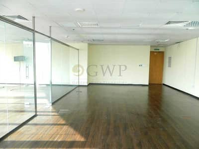 Office for Rent in Business Bay, Dubai - Fully Fitted Good View 2 parking High Floor 