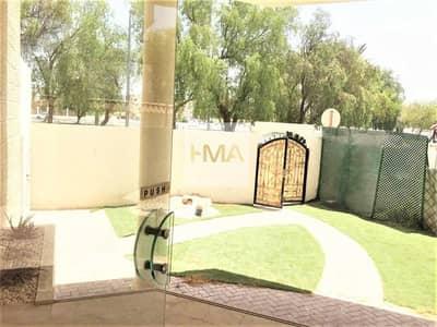 8 Bedroom Villa for Rent in Al Bateen, Abu Dhabi - Stand Alone Villa - Front yard - Basement parking