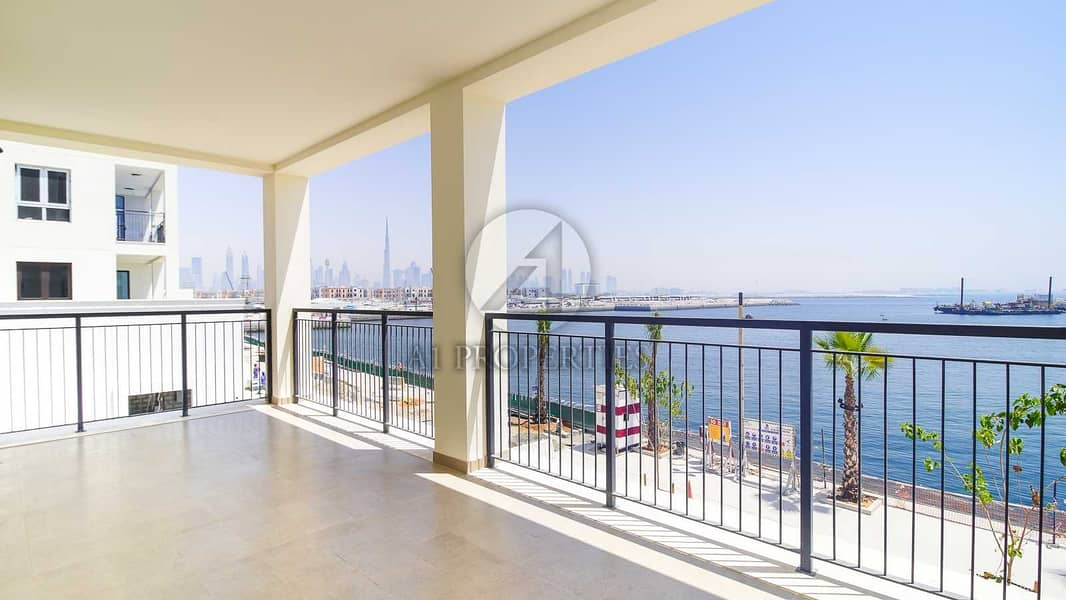 Stunning Full Sea View   Large Terrace   Resale