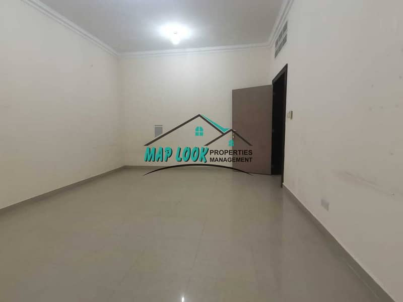 2 very spacious size 2 bedroom with 2 bathroom balcony in kitchen 50k located opposit main bus terminal al nahyan