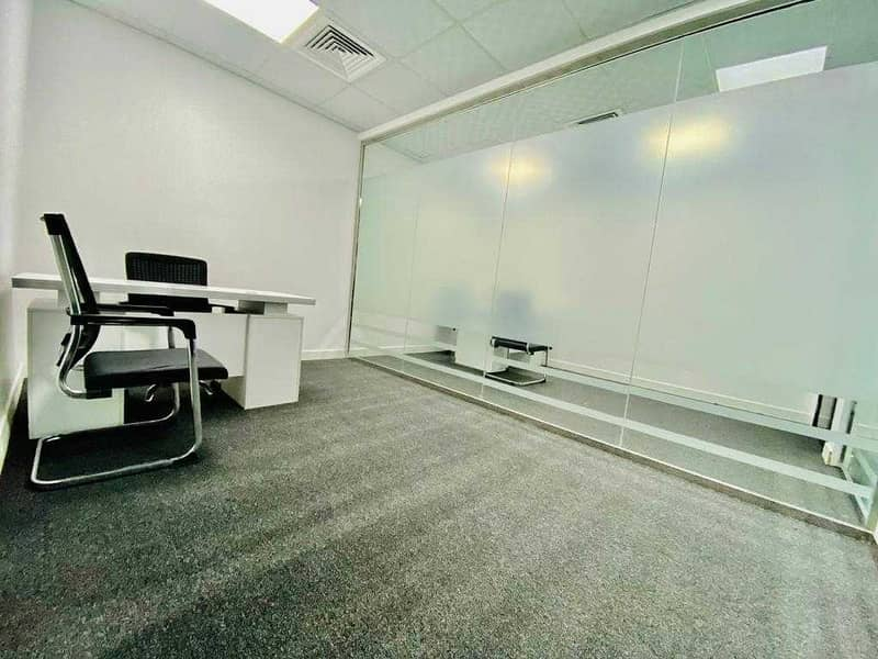 2 Brand New Business Center Located in an Accessible Area