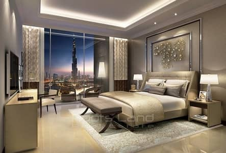 Luxury 2 bedroom fully furnished with Burj Khalifa view