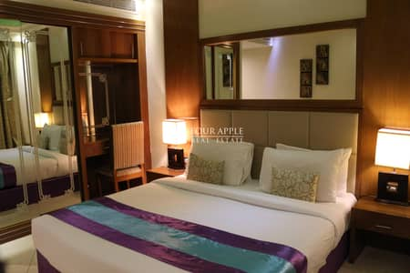 2 Bedroom Hotel Apartment for Rent in Deira, Dubai - Fully Furnished   All Bills Included   No Commission