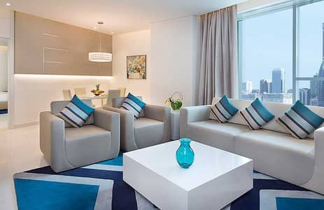 استوديو  للايجار في الخليج التجاري، دبي - شقة استوديو فخمة [مفروشة] - ذا فوغ ، خليج الأعمال