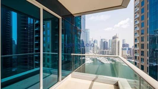 2 Bedroom Flat for Sale in Dubai Marina, Dubai - High floor | Overlooking the marina | Well Kept