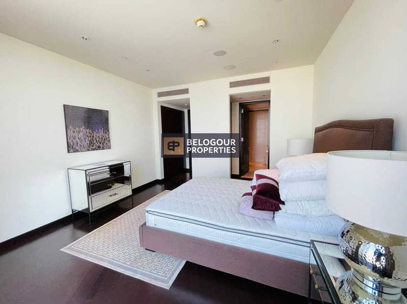 14 On Higher Floor | Fully Furnished 2 Bedroom+Maids | Downtown Views