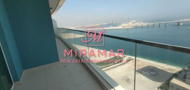 2 Bedroom Apartment for Rent in Al Reem Island, Abu Dhabi - FULL SEA VIEW | HIGH FLOOR | LARGE LAYOUT | LUXURY 2B APARTMENT WITH LARGE  BALCONY