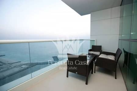 Fully Furnished 2BR+maid - Full Sea View