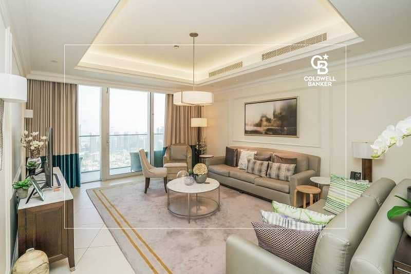 Sky Collection | High Floor | Full Burj and Fountain Views